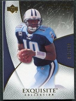 2007 Upper Deck Exquisite Collection #59 Vince Young /150