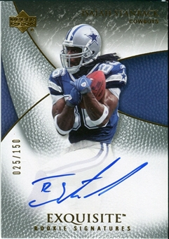 2007 Upper Deck Exquisite Collection #75 Isaiah Stanback RC Autograph /150