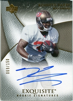 2007 Upper Deck Exquisite Collection #87 Kenneth Darby Autograph /150