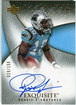 2007 Upper Deck Exquisite Collection #99 Ryne Robinson RC Autograph /150