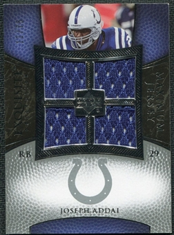 2007 Upper Deck Exquisite Collection Maximum Jersey Silver #AD Joseph Addai /75