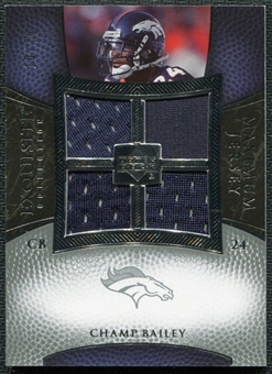 2007 Upper Deck Exquisite Collection Maximum Jersey Silver #BA Champ Bailey /75