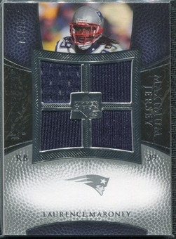 2007 Upper Deck Exquisite Collection Maximum Jersey Silver #LM Laurence Maroney /75