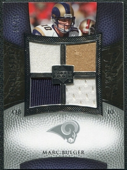 2007 Upper Deck Exquisite Collection Maximum Jersey Silver #MB Marc Bulger /75