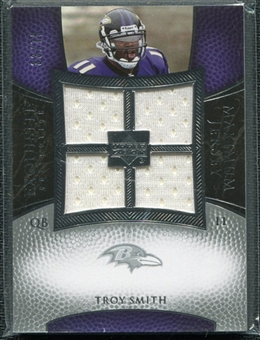 2007 Upper Deck Exquisite Collection Maximum Jersey Silver #TS Troy Smith /75