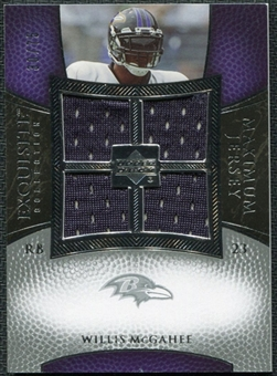 2007 Upper Deck Exquisite Collection Maximum Jersey Silver #WM2 Willis McGahee /75