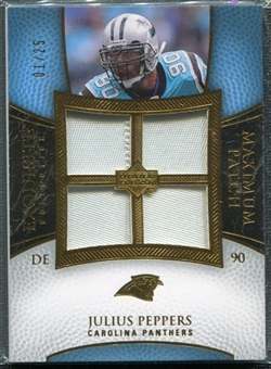 2007 Upper Deck Exquisite Collection Maximum Patch #JP Julius Peppers 1/25