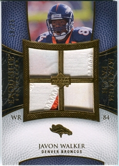 2007 Upper Deck Exquisite Collection Maximum Patch #JW Javon Walker /25