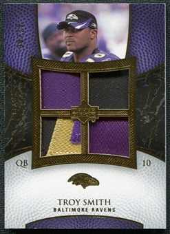 2007 Upper Deck Exquisite Collection Maximum Patch #WM Troy Smith /25