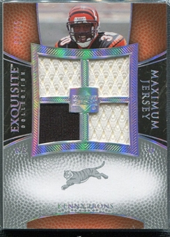 2007 Upper Deck Exquisite Collection Maximum Jersey Silver Spectrum #KI Kenny Irons /15