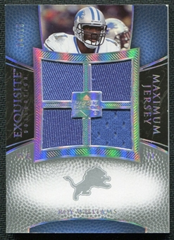 2007 Upper Deck Exquisite Collection Maximum Jersey Silver Spectrum #RW Roy Williams WR /15