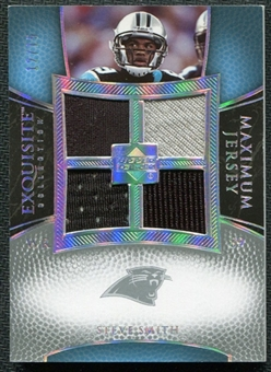 2007 Upper Deck Exquisite Collection Maximum Jersey Silver Spectrum #SM Steve Smith /15