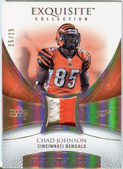 2007 Upper Deck Exquisite Collection Patch Spectrum #JO Chad Johnson 15/15