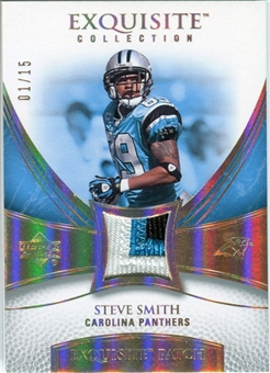 2007 Upper Deck Exquisite Collection Patch Spectrum #SS Steve Smith 01/15