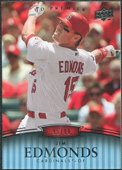 2008 Upper Deck Premier #66 Jim Edmonds /99