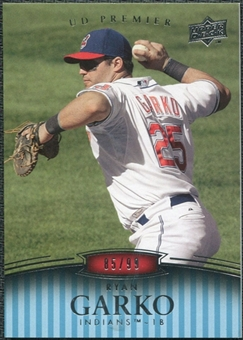 2008 Upper Deck Premier #139 Ryan Garko /99
