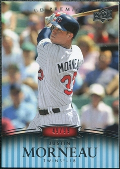 2008 Upper Deck Premier #155 Justin Morneau /99