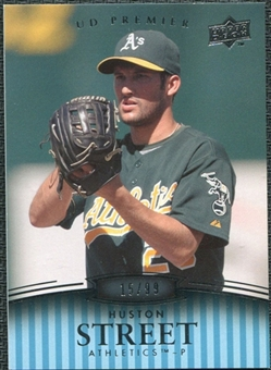 2008 Upper Deck Premier #165 Huston Street /99