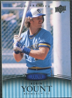 2008 Upper Deck Premier #196 Robin Yount /99