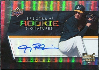 2008 Upper Deck Spectrum #121 Jerry Blevins Autograph