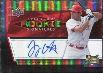 2008 Upper Deck Spectrum #123 Joey Votto Autograph RC