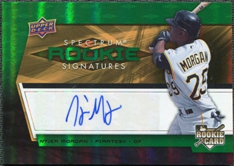 2008 Upper Deck Spectrum Green #135 Nyjer Morgan Autograph