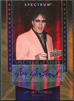 2008 Upper Deck Spectrum Spectrum of Stars Signatures #JF Jay Jay French Autograph