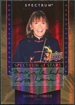 2008 Upper Deck Spectrum Spectrum of Stars Signatures #MK Margot Kidder Autograph