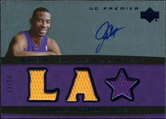 2007/08 Upper Deck Premier Remnants Triple Autographs #JC Javaris Crittenton /50