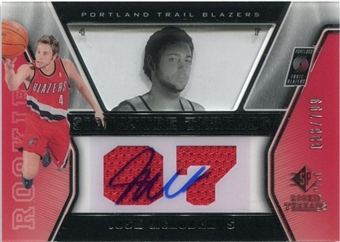 2007/08 Upper Deck SP Rookie Threads #77 Josh McRoberts Autograph /799