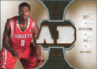 2007/08 Upper Deck SP Rookie Threads #RTAB Aaron Brooks