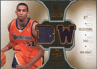 2007/08 Upper Deck SP Rookie Threads #RTBW Brandan Wright
