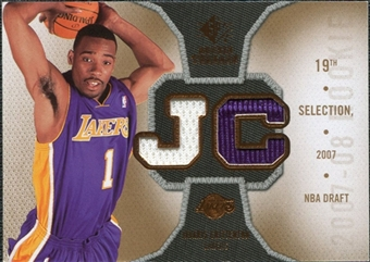 2007/08 Upper Deck SP Rookie Threads #RTJC Javaris Crittenton