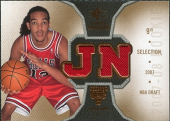 2007/08 Upper Deck SP Rookie Threads Rookie Threads #RTJN Joakim Noah