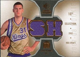 2007/08 Upper Deck SP Rookie Threads Rookie Threads #RTSH Spencer Hawes