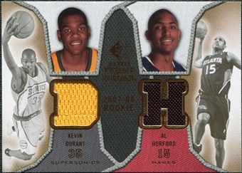 2007/08 Upper Deck SP Rookie Threads Dual #DH Kevin Durant Al Horford