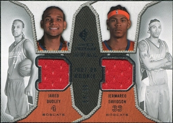 2007/08 Upper Deck SP Rookie Threads Dual Parallel #DD Jared Dudley Jermareo Davidson /99