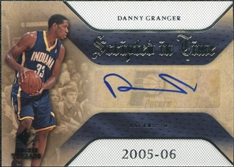 2007/08 Upper Deck SP Rookie Threads Scripted in Time #GR Danny Granger Autograph