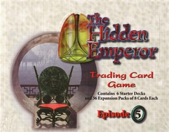 AEG Legend of the Five Rings The Hidden Emperor Combo Box (36 Bstr, 6 Strter