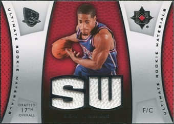 2007/08 Upper Deck Ultimate Collection Materials Rookies #SW Sean Williams