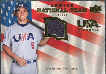 2008 Upper Deck USA Junior National Team Jerseys #EH Eric Hosmer