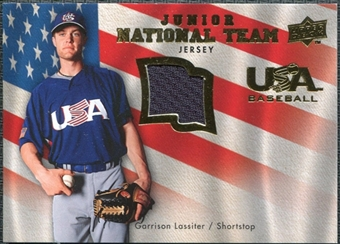 2008 Upper Deck USA Junior National Team Jerseys #GL Garrison Lassiter