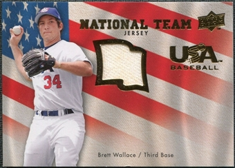 2008 Upper Deck USA National Team Jerseys #BW Brett Wallace