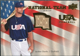2008 Upper Deck USA National Team Jerseys #JD Jordan Danks
