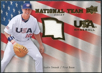 2008 Upper Deck USA National Team Jerseys #JS Justin Smoak