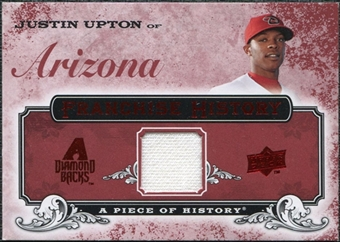2008 Upper Deck UD A Piece of History Franchise History Jersey #FH1 Justin Upton