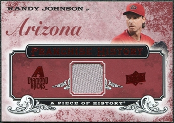 2008 Upper Deck UD A Piece of History Franchise History Jersey #FH2 Randy Johnson
