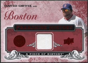 2008 Upper Deck UD A Piece of History Franchise History Jersey #FH10 David Ortiz