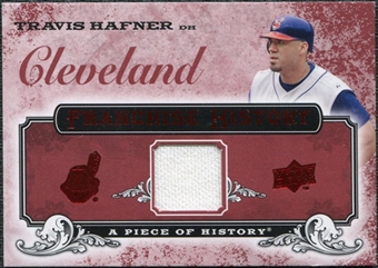 2008 Upper Deck UD A Piece of History Franchise History Jersey #FH17 Travis Hafner