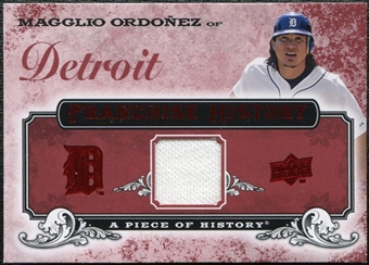 2008 Upper Deck UD A Piece of History Franchise History Jersey #FH20 Magglio Ordonez